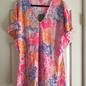 Lilly Pulitzer Bohemian Beach Coverup